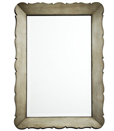 Mirrors - Audrey Scalloped Edge Mirror- ( 28 Finish Options)