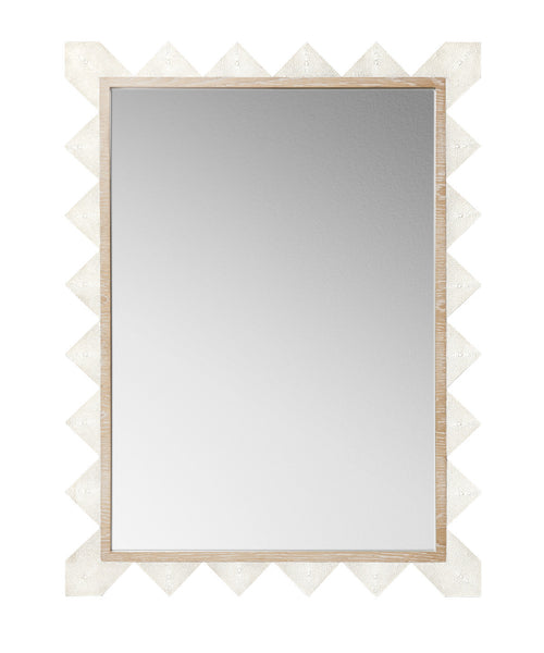 Mirrors - Chancey Shagreen Rectangular Mirror