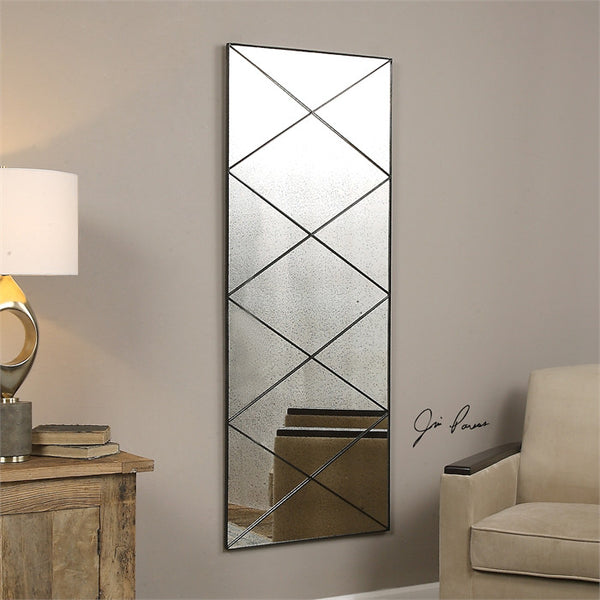 Mirrors - Diamond Mirror – Antique Glass