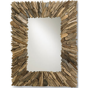 Mirrors - Rectangle Driftwood Mirror