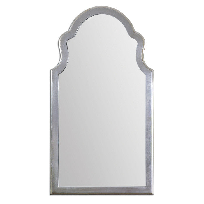Mirrors - Silver Leaf Chippendale Mirror