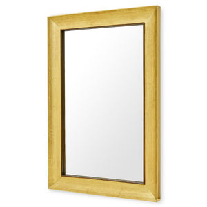 Bungalow 5 MELINDA-Large Hand Hammered Rectangular Mirror – Antique Brass