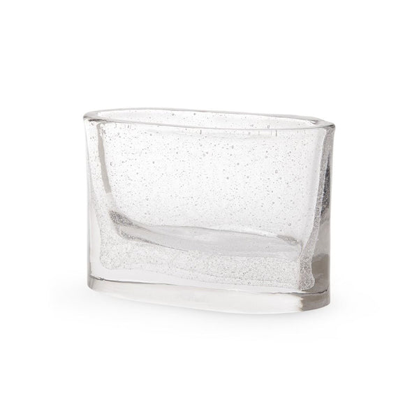 Bungalow 5 Small Seeded Glass Vase – Clear