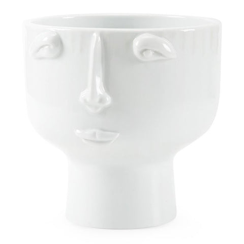 Bungalow 5 Surrealist White Porcelain Vase