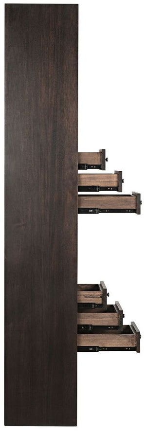 Tubula Bookcase - Ebony Walnut