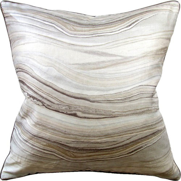 Pillows - Agate Print Pillow – Off-White