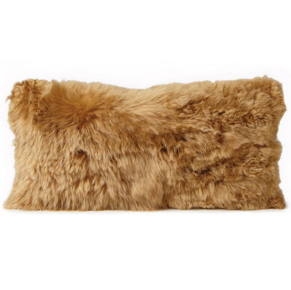 Pillows - Alpaca Fur Pillow – Gold