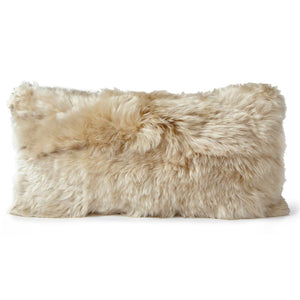 Pillows - Alpaca Fur Pillow – Linen