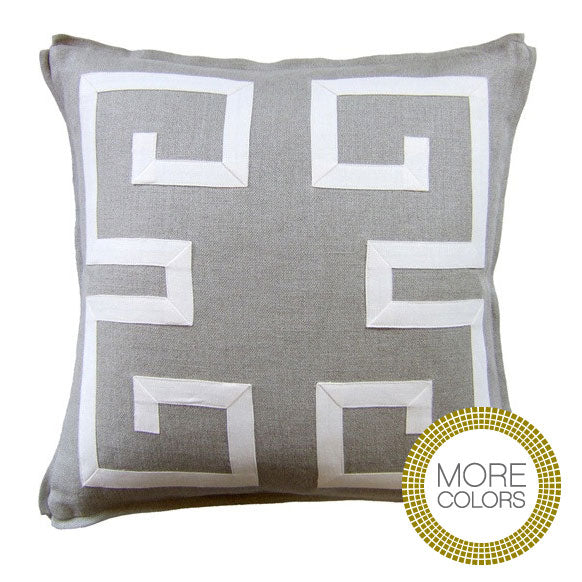 Pillows - Greek Key Fretwork Pillow