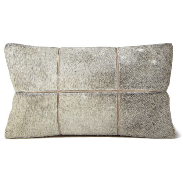 Pillows - Hide Grid Pillow – Grey