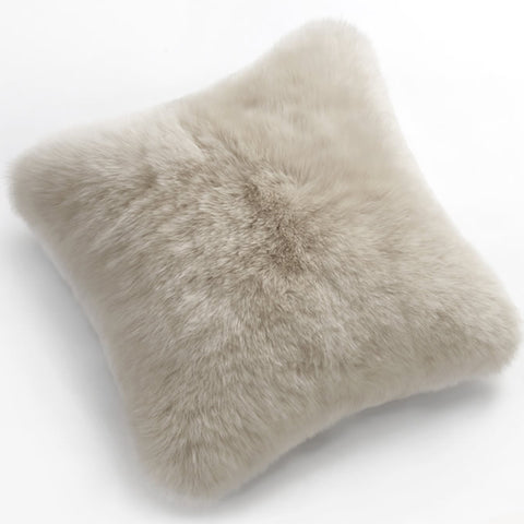 Pillows - Luxe Linen Premium Sheepskin Pillow - In 4 Sizes