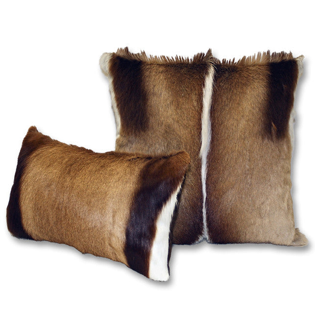 Pillows - Natural Springbok Hide Pillows