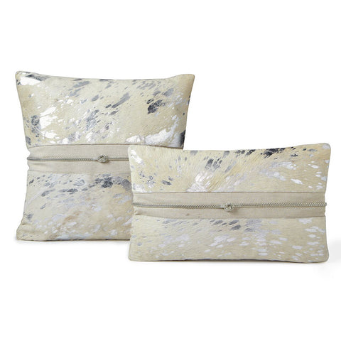 Pillows - Silver Hide Luxe Pillow With Band