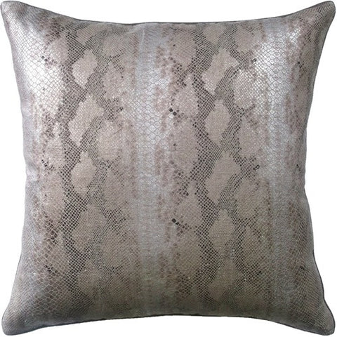 Pillows - Snake Print Pillow - Linen