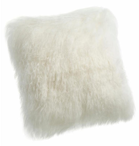 Pillows - Tibetan Lamb Pillow - Ivory