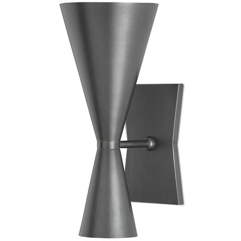 Retro Wall Sconce – Dark Grey