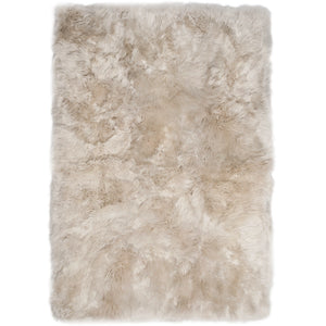 Rugs - Linen Straight-Edge Premium Sheepskin Rug - In 4 Sizes