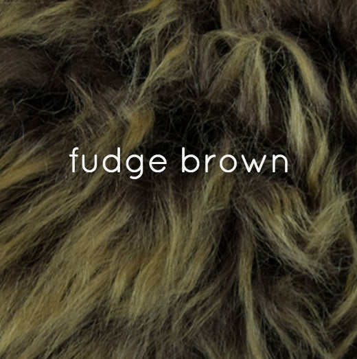 Rugs - Luxe Fudge Brown Premium Sheepskin Rug - In 6 Sizes