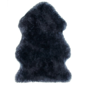 Rugs - Luxe Indigo Blue Premium Sheepskin Rug - In 6 Sizes