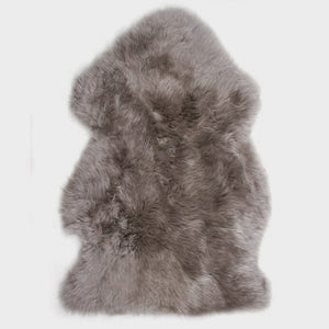 Luxe Light Grey Premium Sheepskin Rug - 6 Sizes