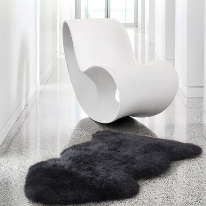 Rugs - Luxe Light Grey Premium Sheepskin Rug - In 6 Sizes