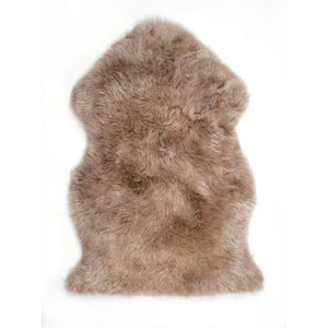 Rugs - Luxe Toffee Brown Premium Sheepskin Rug - In 6 Sizes