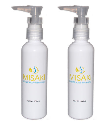 2 Misaki Facial + 2 Misaki Body Whitening Set