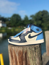 Load image into Gallery viewer, Air Jordan one unc Obsidian
