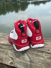 Load image into Gallery viewer, Air Jordan 9 White Gym Red