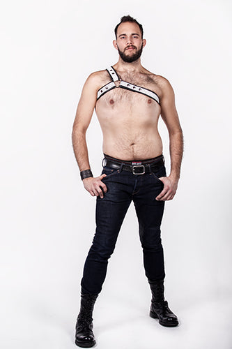Asymmetrical Flag Harness Double Fold