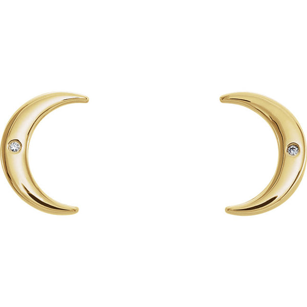 'Luna' Diamond Earrings