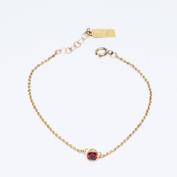 Crystal Drop Chain Bracelet