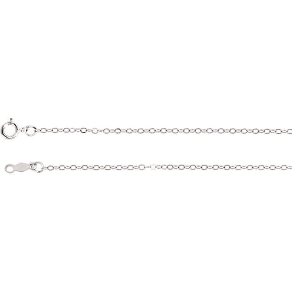 "14K 1.5mm Cable 16"" Chain Necklace"