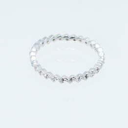 Zig Zag Eternity Ring