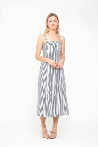 5842 Stripe Effect Dress