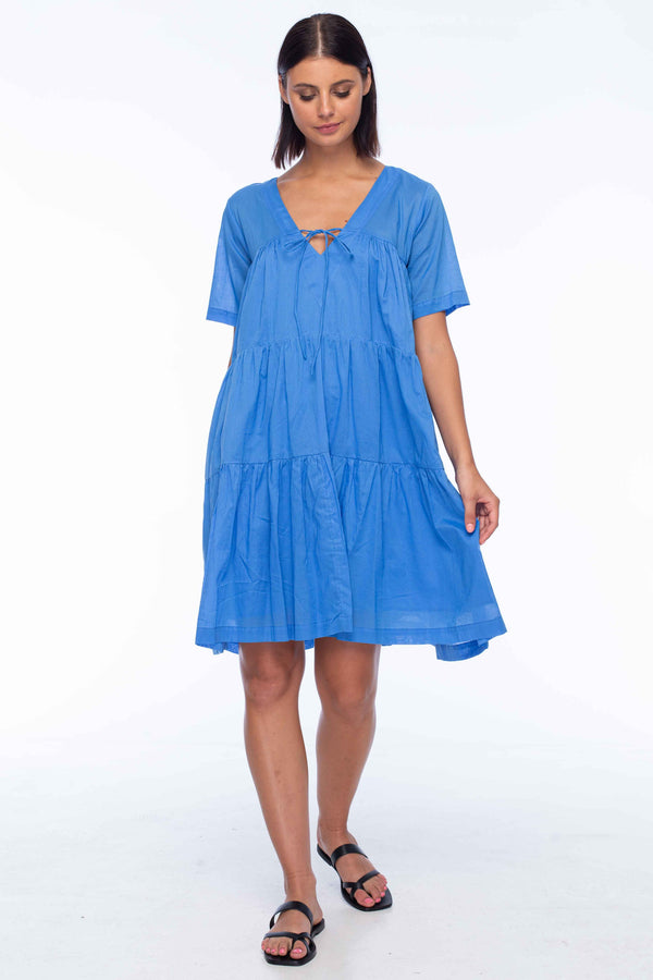 Short Sleeve Wherever You Are Dress