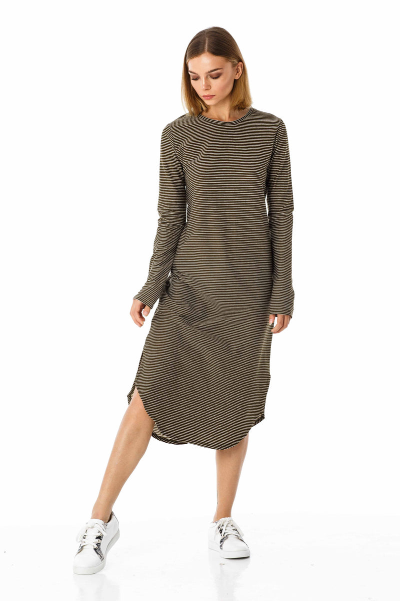 Happier Long Sleeve Dress