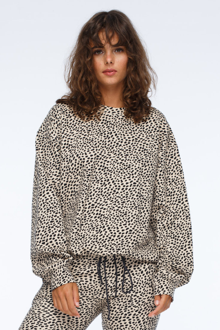2621 Cheetah Sweater