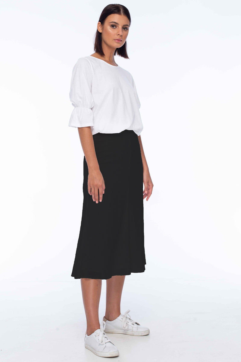 W21/7066-01 Ebony Skirt