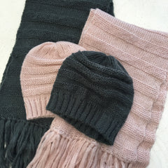 4003-01 Affluence Scarf BLUSH