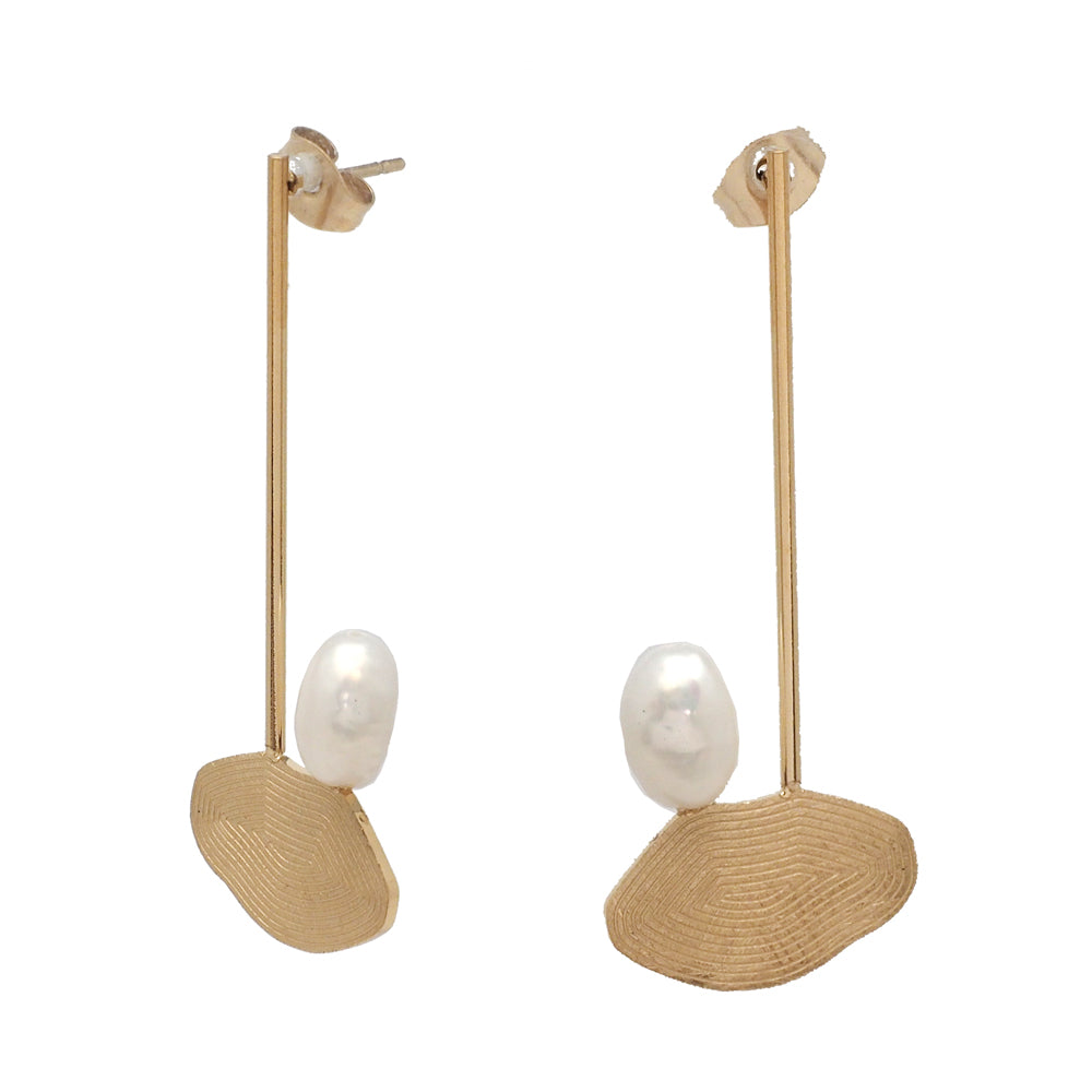 Jayne pearl earrings