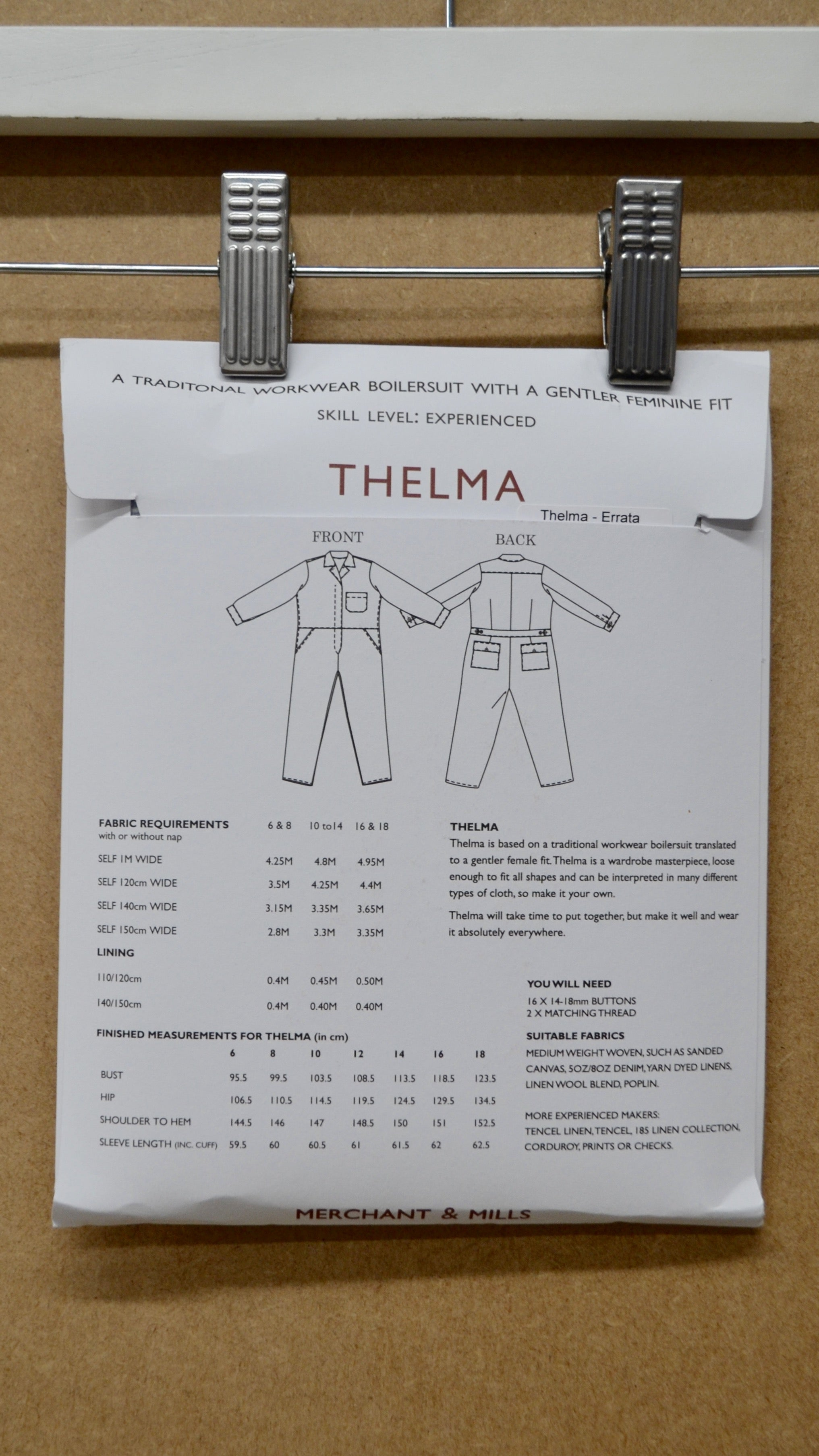 The Thelma Pattern