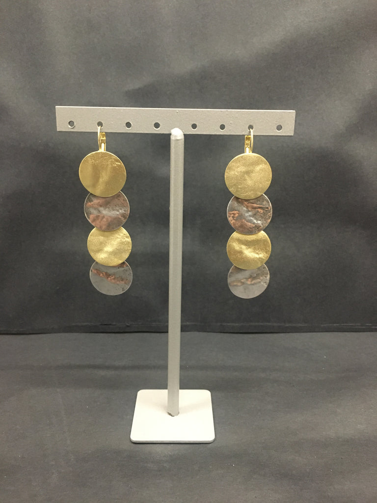 Multi-Disc Earrings