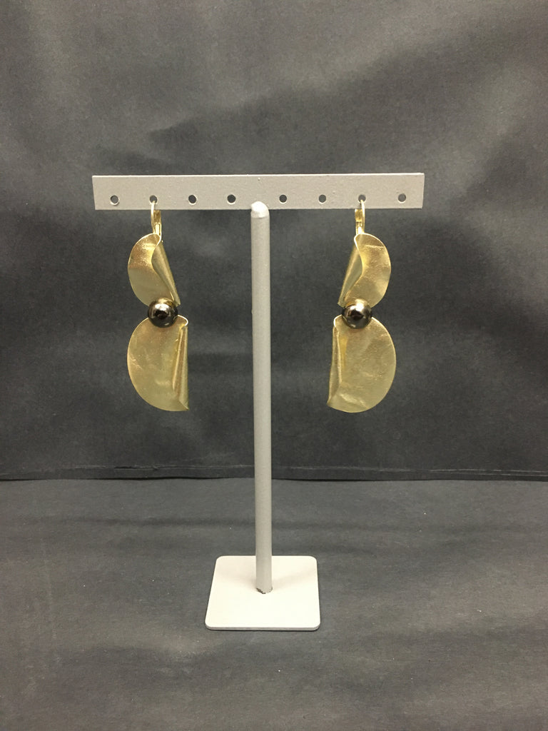 Golden Bow Earrings