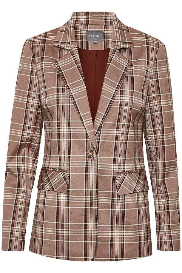 Mandy Check Blazer