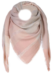 "Komplett-Outfit ""Scarf"" in altrosa/rosé/beige"