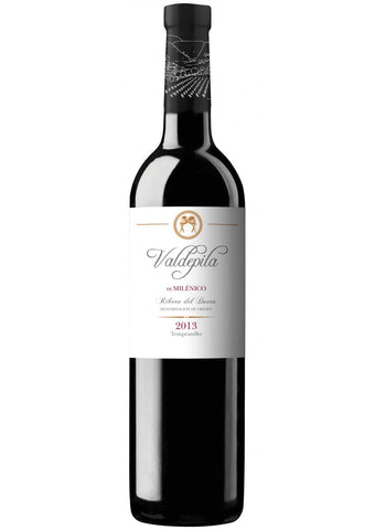 Bodega y Vinedos Milenico Valdepila Tempranillo - 2013 Wine and Spirits 94 pts, Pedro Ballesteros MW 91 pts.