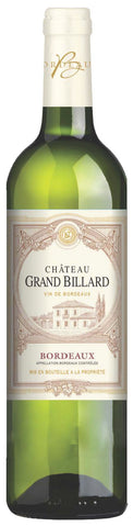 Chateau Grand Billard Bordeaux AOC - Available 10/1/19!