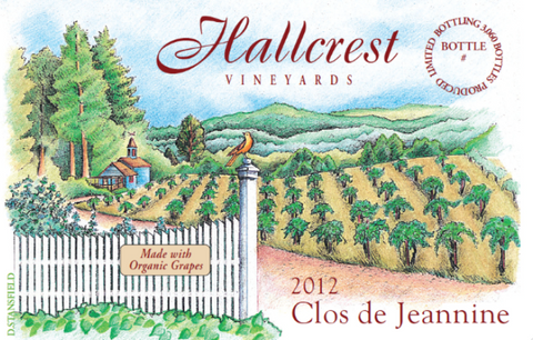 Hallcrest Vineyards Clos de Jeannine:  San Francisco Wine Chronicle Gold