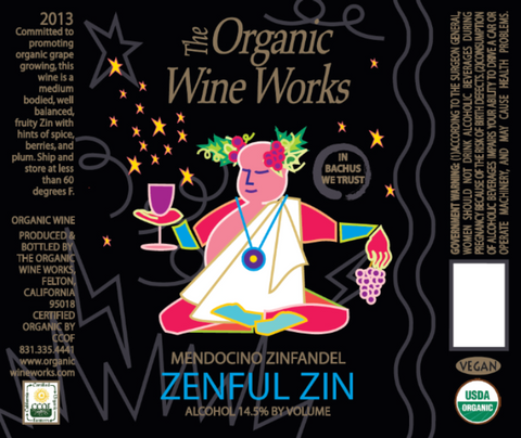 Hallcrest Vineyards Zenful Zin - San Francisco Wine Chronicle Gold